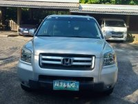Silver Honda Pilot 2007 for sale in Automatic