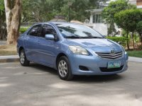 Blue Toyota Vios 2011 for sale in Manual