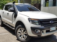 White Ford Ranger 2015 for sale in Manual