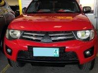 Red Mitsubishi Strada 2011 for sale in Automatic