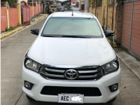 White Toyota Hilux 2016 for sale in Manual