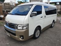 Sell Pearl White 2016 Toyota Hiace in Pasig