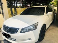 White Honda Accord 2008 for sale in Manila