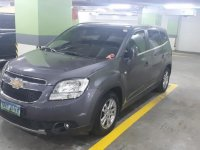 Grey Chevrolet Orlando 2011 for sale in Automatic