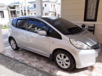 Silver Honda Jazz 2013 for sale in Automatic