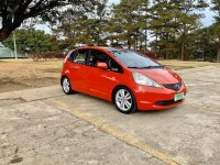 Selling Orange Honda Jazz 2009 in Baguio