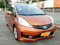 Orange Honda Jazz 2012 for sale in Automatic
