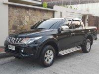 Black Mitsubishi Strada 2015 for sale in Automatic