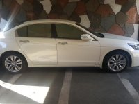 Selling Pearl White Honda Accord 2012 in Quezon City