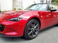 Red Mazda Mx-5 2018 for sale in Quezon City