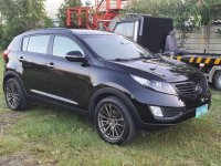 Sell Grayblack 2013 Kia Sportage in Bacolod