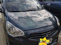 Black Mitsubishi Mirage 2014 for sale in Manila
