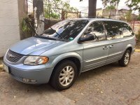 Sell Blue 2004 Chrysler Town And Country in Cainta