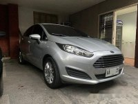 Selling Silver Ford Fiesta 2014 in Quezon City