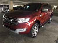 Sell Red 2016 Ford Everest Automatic Diesel