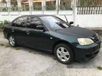 Sell Green 2003 Honda Civic Manual Gasoline