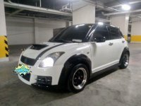 Sell White 2010 Suzuki Swift at 115000 km