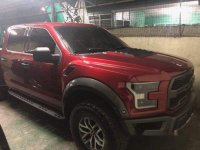 Selling Red Ford F-150 2018 in Manila