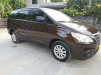 Sell Brown 2015 Toyota Innova Automatic Diesel