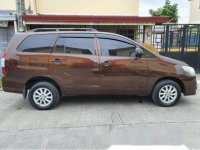 Brown Toyota Innova 2015 Manual for sale