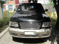 Black Isuzu Trooper 2003 Automatic for sale