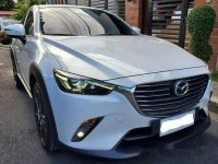 White Mazda Cx-3 2017 at 12200 km for sale in Manila