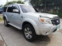 Silver Ford Everest 2010 for sale in Cebu