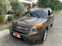 Sell Brown 2015 Ford Explorer at 49500 km