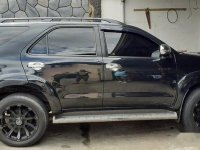 Selling Black Toyota Fortuner 2016 in Santa Maria