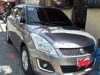 Selling Grey Suzuki Swift 2016 Automatic Gasoline