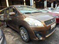 Brown Suzuki Ertiga 2015 for sale in Quezon City