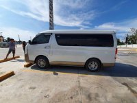 White Toyota Hiace 2016 for sale in Cagayan De Oro