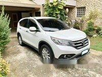 White Honda Cr-V 2013 at 36600 km for sale