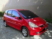 Selling Red Honda Jazz 2004 Automatic Gasoline