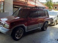 Red Suzuki Vitara 1999 Automatic for sale