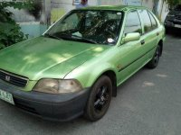 Green Honda City 1999 Automatic for sale