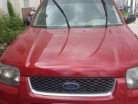 Selling Red Ford Escape 2006 Automatic Gasoline