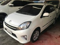 White Toyota Wigo 2015 for sale in Meycauayan