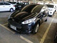 Black Ford Fiesta 2014 for sale in Mandaue