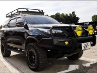 Black Toyota Fortuner 2016 for sale in San Jose
