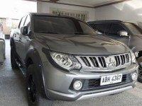 Selling Grey Mitsubishi Strada 2015 at 57000 km