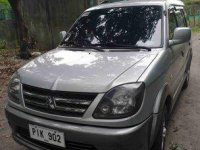 Silver Mitsubishi Adventure 2010 Manual for sale