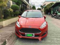 Orange Ford Fiesta 2014 Automatic for sale