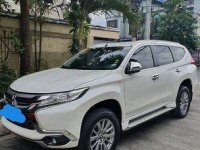White Mitsubishi Montero Sport 2018 at 21000 km for sale