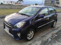 Blue Toyota Wigo 2016 for sale in Cavite