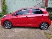 Red Kia Picanto 2016 Automatic for sale