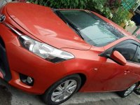Orange Toyota Vios 2016 for sale in Manual