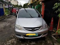 Silver Honda City 2008 at 92000 km for sale