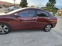Red Honda City 2015 at 27000 km for sale