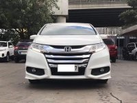 White Honda Odyssey 2015 for sale in Automatic